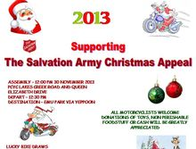 Annual Salvation Army Toy Run