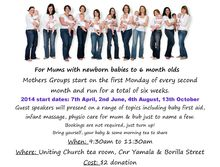 Emerald Mums Birthing & Babies Meet & Greet