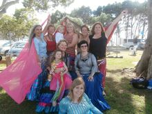 Nefertiti Dance - 'Belly Dance' Class - Term 4!