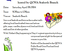 Local Stallholders Wanted for QCWA Seaforth Market Day